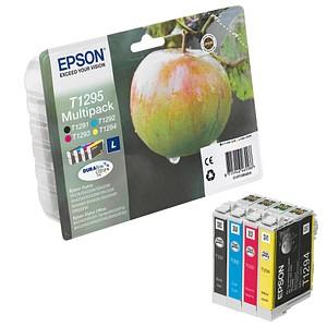 EPSON T1295L schwarz, cyan, magenta, gelb Tintenpatronen