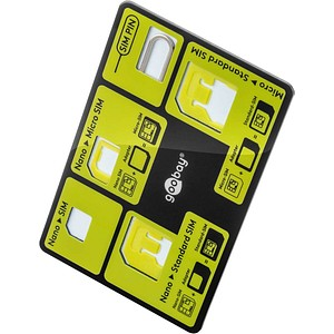 goobay Kreditkarten-Format SIM-Karten-Adapter