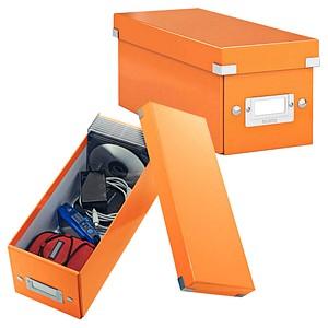 LEITZ Click & Store CD-/DVD-Box orange