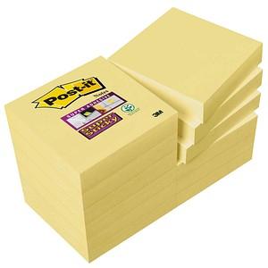 12x Post-it® Super Sticky Haftnotizen 62212SY gelb