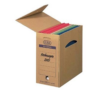 6 ELBA Archivboxen tric system