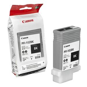 Canon PFI-102 BK schwarz Tintenpatrone