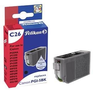 Pelikan C26 schwarz Tintenpatrone ersetzt Canon PGI-5 BK