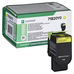 Lexmark 71B20Y0 gelb Toner