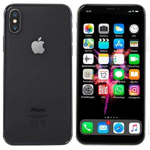 Apple iPhone X spacegrau 256 GB