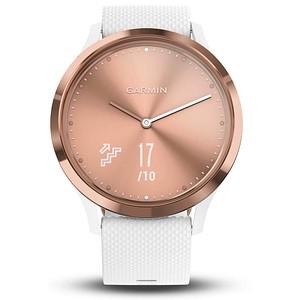 GARMIN vívomove HR Sport Smartwatch weiß; rósegold