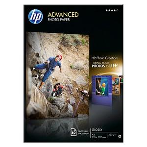 HP Fotopapier Q8698A A4 glänzend