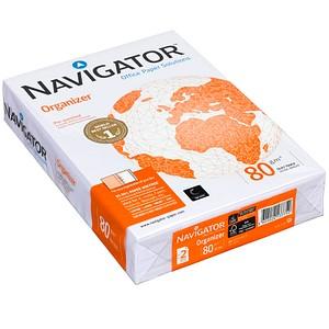NAVIGATOR Kopierpapier Organizer A4 80 g/qm 2-fach gelocht