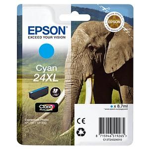 EPSON 24XL / T2432XL cyan Tintenpatrone