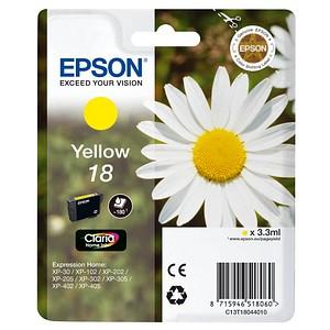 EPSON 18 / T1804 gelb Tintenpatrone