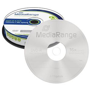 10 MediaRange DVD-R