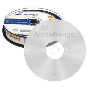 10 MediaRange DVD+R