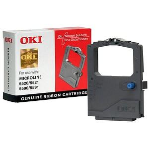 OKI 01126301 schwarz Farbband