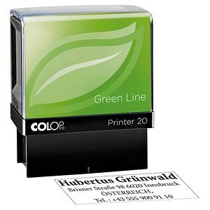 COLOP Textstempel Green Line Printer 20