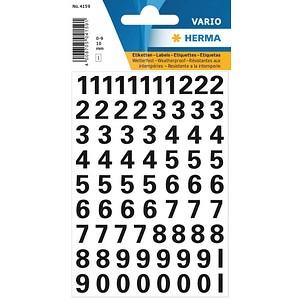 95 HERMA Klebenummern 4159 verschiedene Zahlen