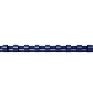 100 Fellowes Kunststoffbinderücken blau