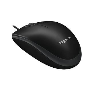 Logitech B100 Maus kabelgebunden