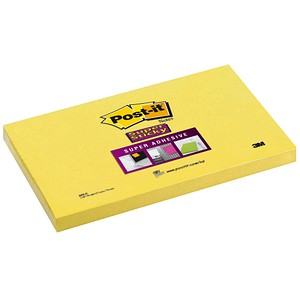 Post-it® Super Sticky Haftnotizen gelb