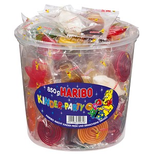 HARIBO KINDER-PARTY Fruchtgummi 850,0 g