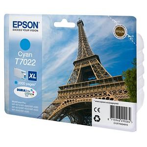 EPSON T7022XL cyan Tintenpatrone