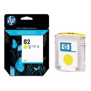 HP 82 gelb Tintenpatrone
