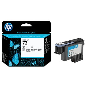 HP 72 Foto schwarz, grau Druckkopf