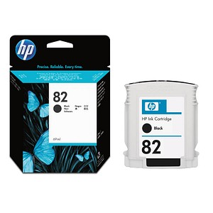 HP 82 schwarz Tintenpatrone