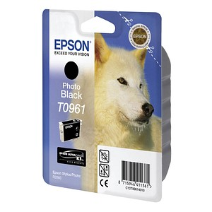 EPSON T0961 schwarz Tintenpatrone