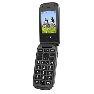 doro PhoneEasy 613 Großtasten-Handy schwarz