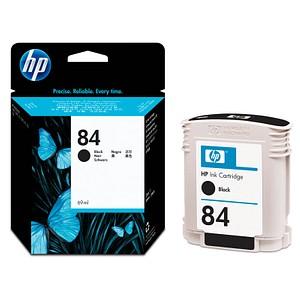 HP 84 schwarz Tintenpatrone