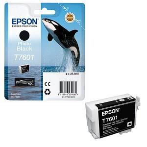 EPSON T7601 Foto schwarz Tintenpatrone