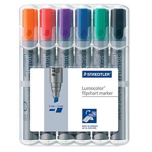 Flipchart-Marker Lumocolor von STAEDTLER