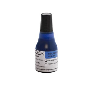 COLOP Stempelfarbe blau