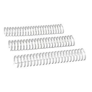 25 RENZ Drahtbinderücken silber
