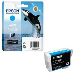 EPSON T7602 cyan Tintenpatrone
