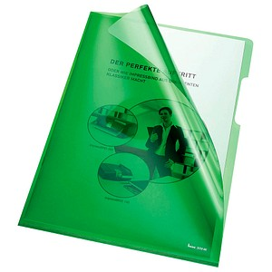 100 bene Sichthüllen grün glatt
