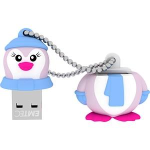 EMTEC USB-Stick Animalitos Lady Pinguin 8 GB