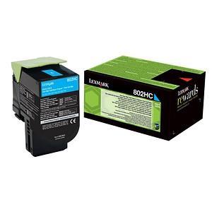 Lexmark 80C2HC0 cyan Toner