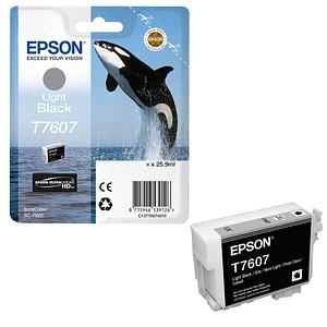 EPSON T7607 light schwarz Tintenpatrone