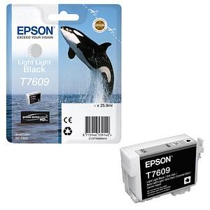 EPSON T7609 light light schwarz Tintenpatrone