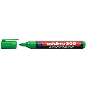 edding 300 Permanentmarker grün 1,5 - 3,0 mm