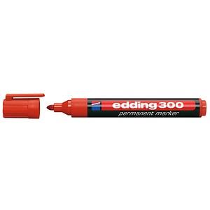 edding 300 Permanentmarker rot 1,5 - 3,0 mm