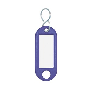 10 WEDO Schlüsselanhänger blau