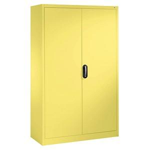 CP Stahlschrank gelb