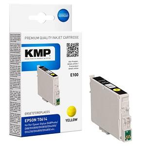 KMP E100 gelb Tintenpatrone ersetzt EPSON T0614