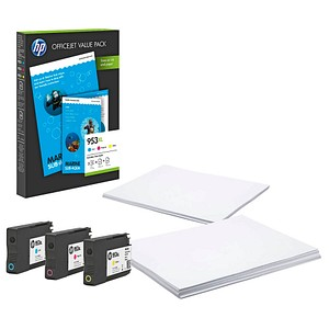 HP Value Pack 953XL cyan, magenta, gelb Tintenpatronen
