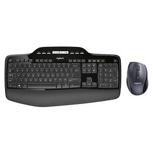 Logitech Wireless Desktop MK710 Tastatur-Maus-Set kabellos