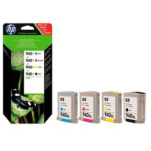 HP 940XL schwarz, cyan, magenta, gelb Tintenpatronen