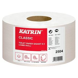 KATRIN Jumbo-Toilettenpapier Gigant S2 2-lagig