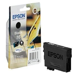 EPSON 16 / T1621 schwarz Tintenpatrone